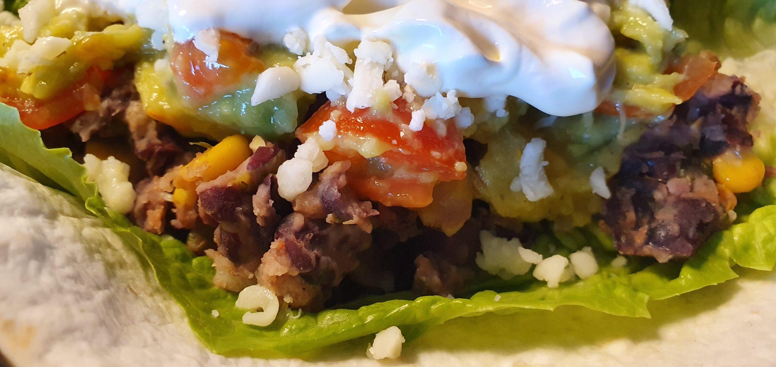 Bönröra till taco