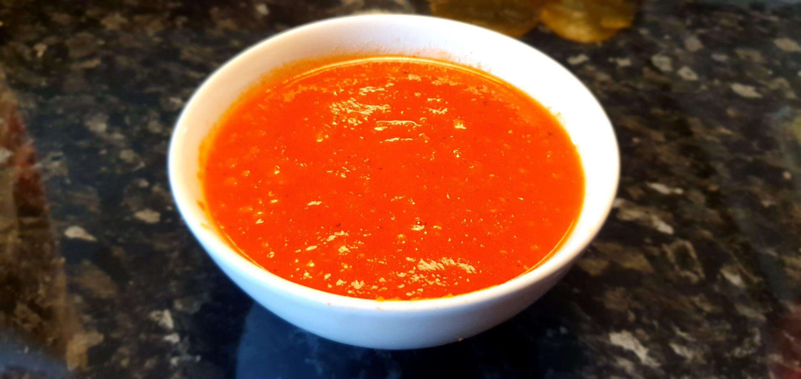 Enklaste tomatsoppan