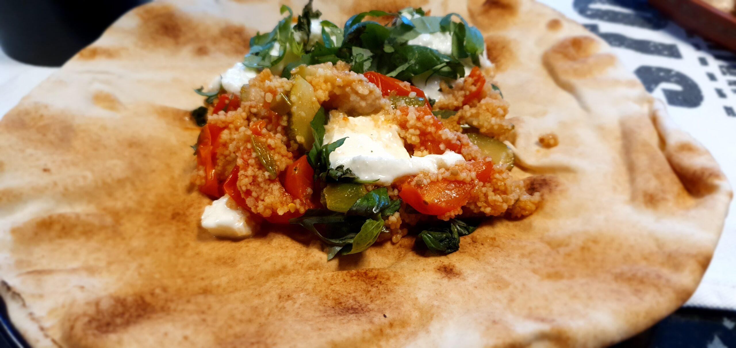 Tomat- och mozzarellaröra