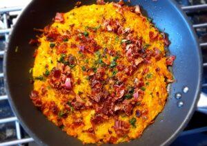 Rösti med palsternacka och bacon